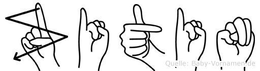 Zitin in Fingersprache f�r Geh�rlose