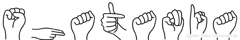 Shatania in Fingersprache für Gehörlose