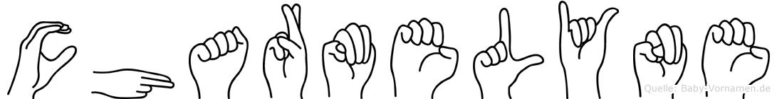Charmelyne in Fingersprache für Gehörlose