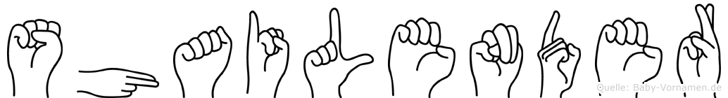 Shailender in Fingersprache für Gehörlose