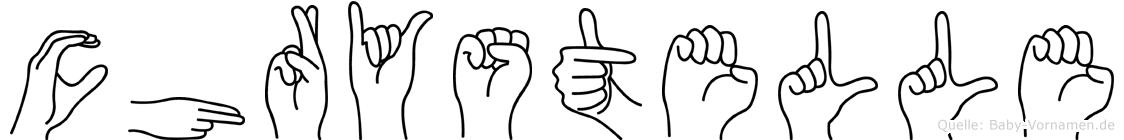 Chrystelle in Fingersprache für Gehörlose