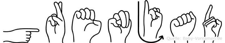 Grenjad in Fingersprache für Gehörlose