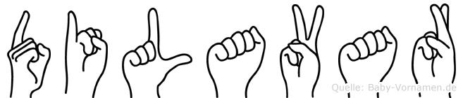 Dilavar in Fingersprache für Gehörlose