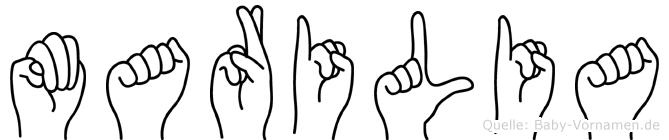 Marilia in Fingersprache für Gehörlose