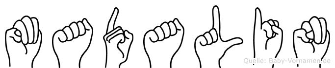 Madalin in Fingersprache für Gehörlose