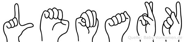 Lemark in Fingersprache für Gehörlose