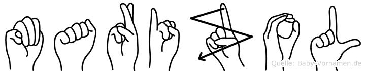 Marizol in Fingersprache für Gehörlose