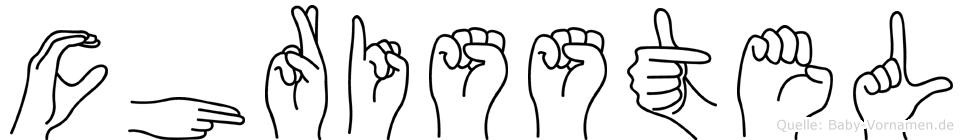 Chrisstel in Fingersprache für Gehörlose