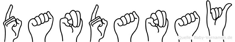 Dandanay in Fingersprache f�r Geh�rlose