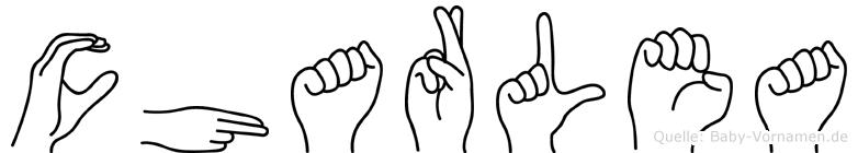 Charlea in Fingersprache für Gehörlose