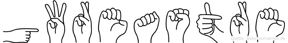 Gwreastre in Fingersprache für Gehörlose