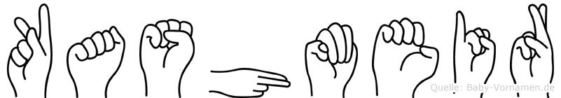 Kashmeir in Fingersprache für Gehörlose
