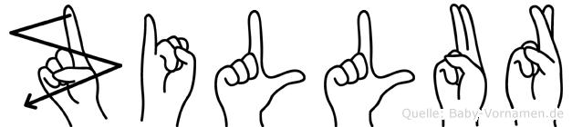 Zillur in Fingersprache für Gehörlose