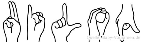 Uiloq in Fingersprache für Gehörlose