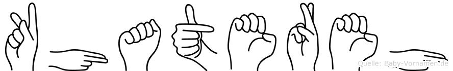 Khatereh in Fingersprache für Gehörlose