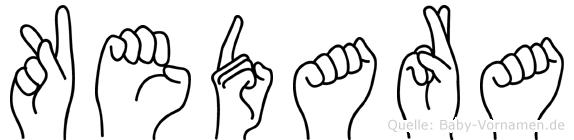 Kedara in Fingersprache für Gehörlose