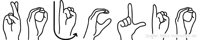 Rojclio in Fingersprache für Gehörlose