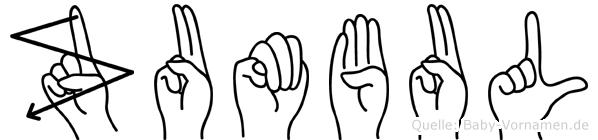 Zumbul in Fingersprache für Gehörlose