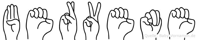 Bervene in Fingersprache für Gehörlose