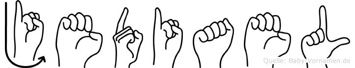Jediael in Fingersprache für Gehörlose