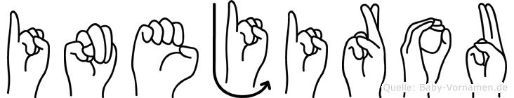 Inejirou in Fingersprache für Gehörlose