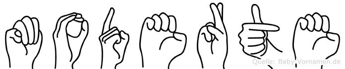Moderte in Fingersprache für Gehörlose