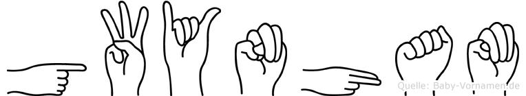 Gwynham in Fingersprache für Gehörlose