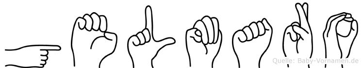 Gelmaro in Fingersprache für Gehörlose