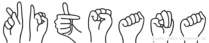 Kitsana in Fingersprache für Gehörlose