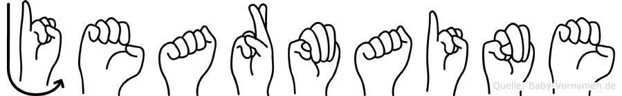 Jearmaine in Fingersprache für Gehörlose