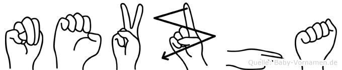 Nevzha in Fingersprache für Gehörlose