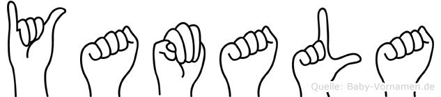 Yamala in Fingersprache für Gehörlose