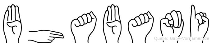 Bhabani in Fingersprache für Gehörlose