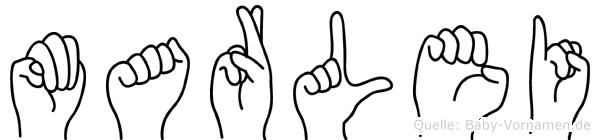 Marlei in Fingersprache für Gehörlose