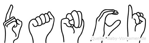 Danci im Fingeralphabet der Deutschen Gebärdensprache