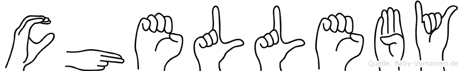 Chelleby in Fingersprache für Gehörlose