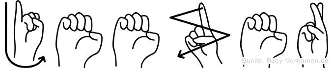 Jeezer in Fingersprache für Gehörlose