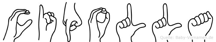 Cipolla in Fingersprache für Gehörlose