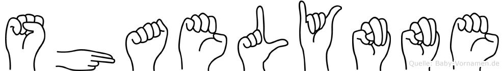 Shaelynne in Fingersprache für Gehörlose