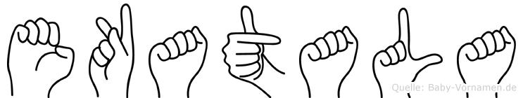 Ekatala in Fingersprache für Gehörlose