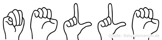Melle in Fingersprache für Gehörlose