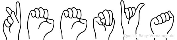 Keenya in Fingersprache für Gehörlose