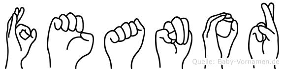 Feanor in Fingersprache für Gehörlose