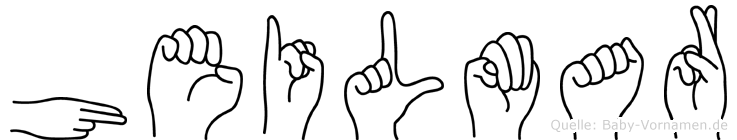 Heilmar in Fingersprache für Gehörlose