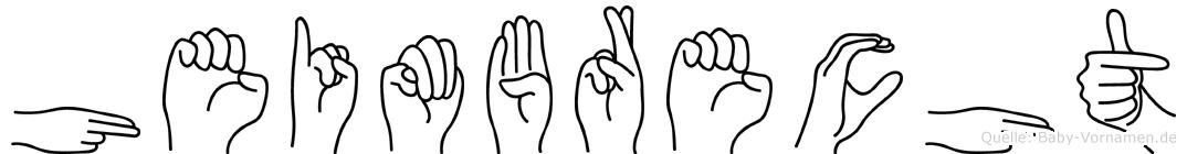 Heimbrecht in Fingersprache für Gehörlose