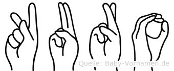 Kuro in Fingersprache für Gehörlose