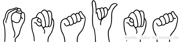 Omayma in Fingersprache für Gehörlose
