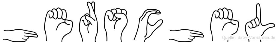 Herschel in Fingersprache für Gehörlose