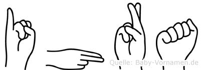Ihra in Fingersprache für Gehörlose