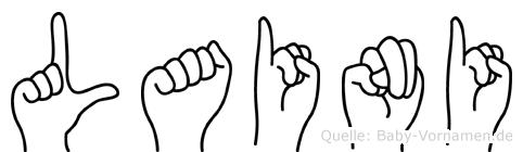 Laini in Fingersprache für Gehörlose
